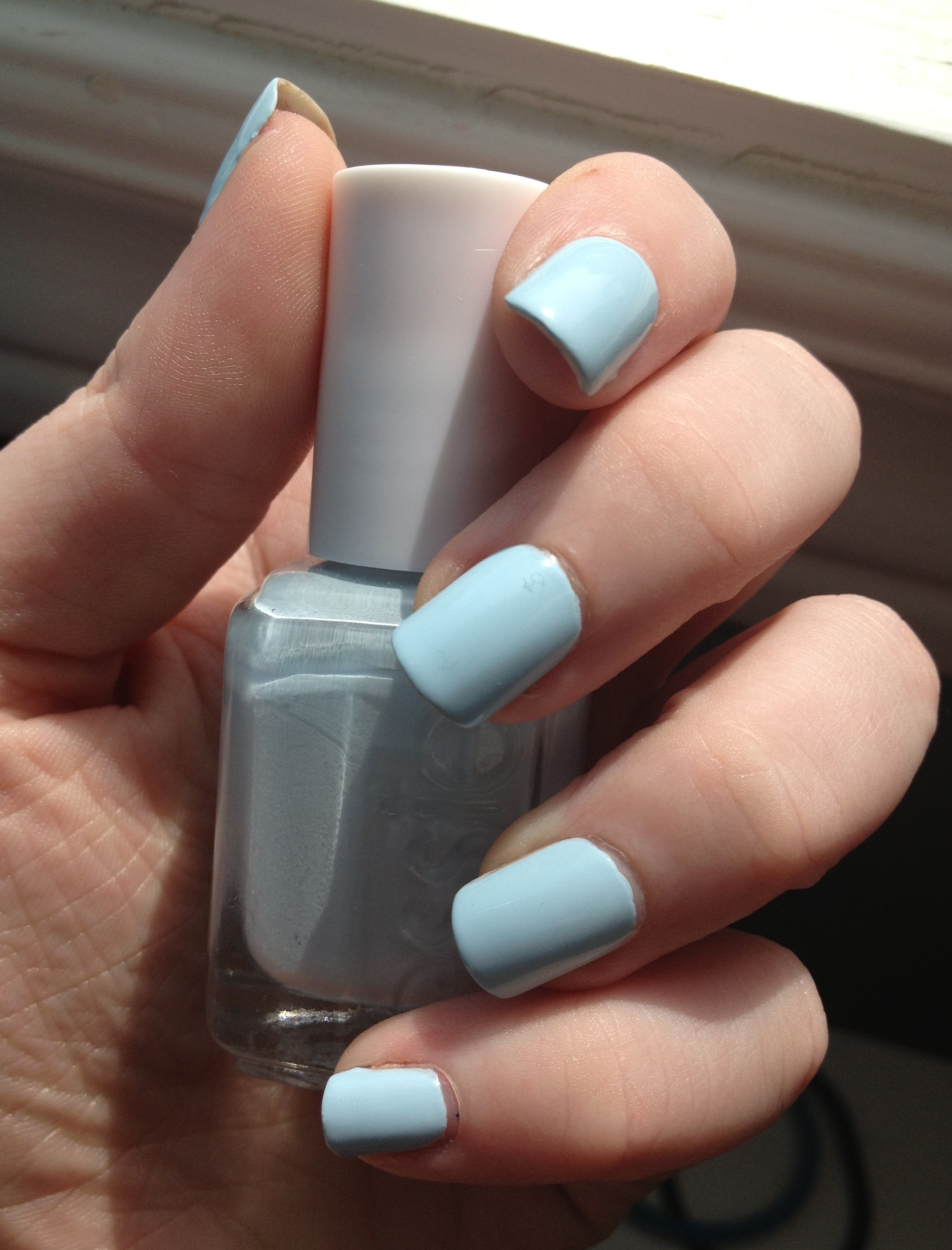 Essie\'s Borrowed And Blue | My Red Nail Polish