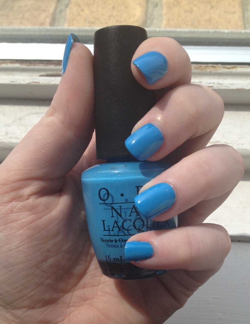 Opi S No Room For The Blues My Red Nail Polish